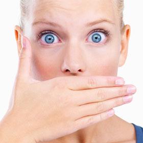 неприятный запах изо рта при диете