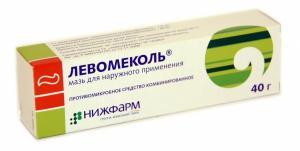Использование левомеколя при гайморите, рините и во время беременности